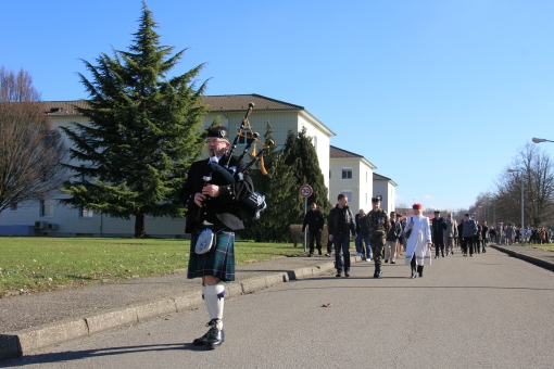 Highland Dragoons - Caserne Militaire Illkirch