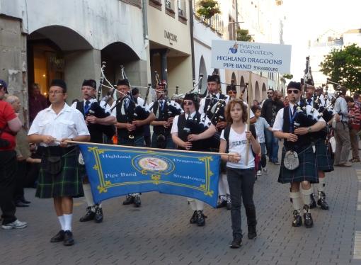 Highland Dragoons - Parade Euroceltes Strasbourg