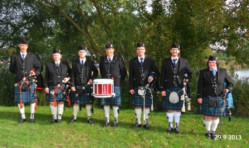 Highland Dragoons Virades de l'Espoir