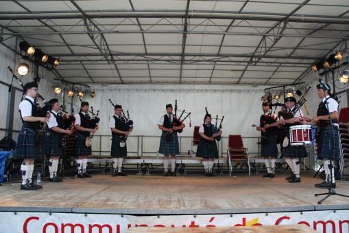 Pipe Band Strasbourg - Fete du Rhin Drusenheim