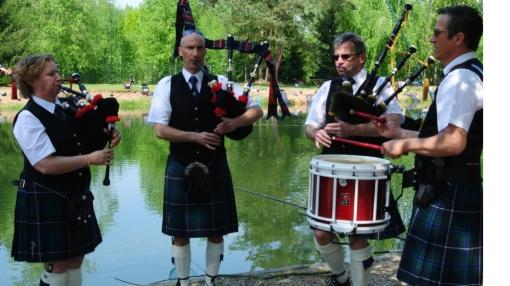Pipe Band Strasbourg_Fête Etang Brumath