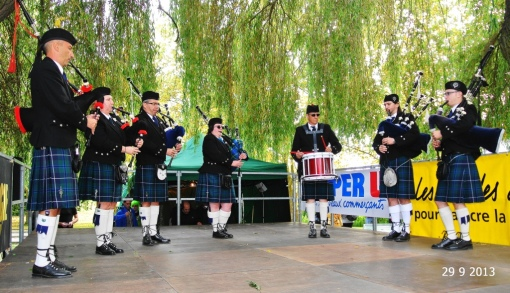 Pipe Band Strasbourg_Virades Espoir